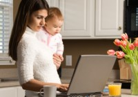 become a work at home mom